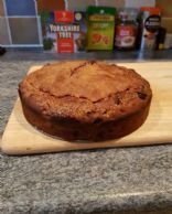 Cherry & Walnut Fruit Cake