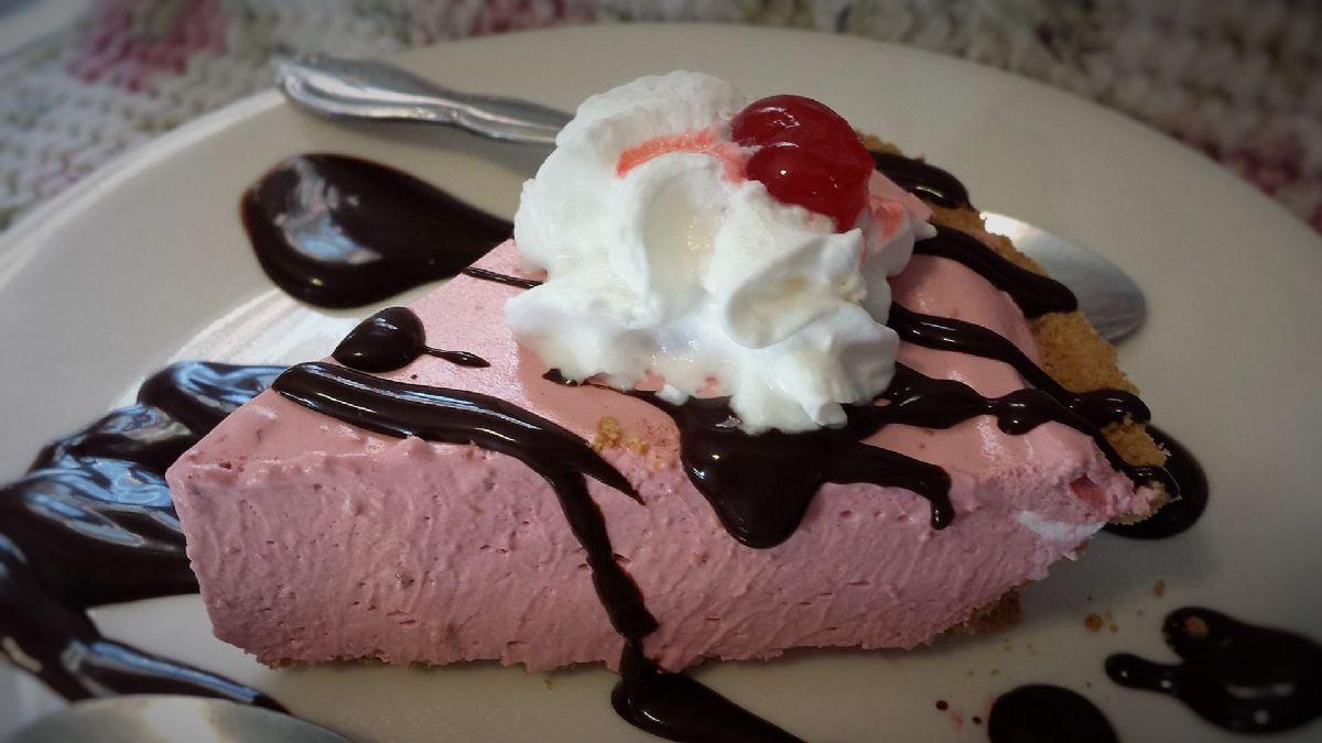 Cherry Yogurt Pie