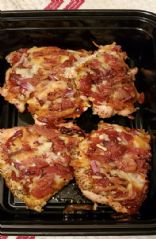 Chicken Crust Pizza w/ Bacon & Onion