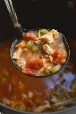 Chicken Rice Lentil Stew