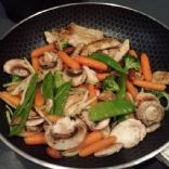 Chicken Stirfry Almond Ding Drea's Way