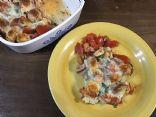 Chicken Tomato & Potato Bake