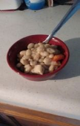 Chicken and white bean casserole