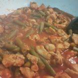 Chicken beans
