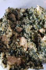 Chicken florentine quinoa