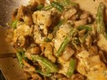 Chicken with Creamy Thyme Sauce