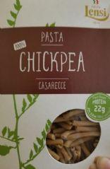 Chickpea Tomato Pesto Pasta