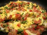Chilean Scrambled Eggs with Tomatoes (Huevos Revueltos con Tomate)