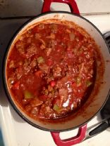 Chili, Low Carb & High Fat