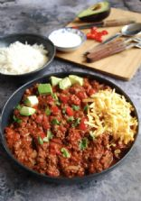Chili Con Carne w/Green Beans