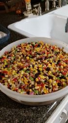 Chilled Mixed Bean & Corn Relish