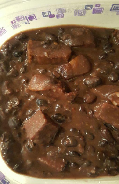 Chiplote Black Beans & Ham