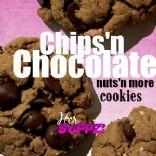 Chips 'n Chocolate nuts'n more Cookies