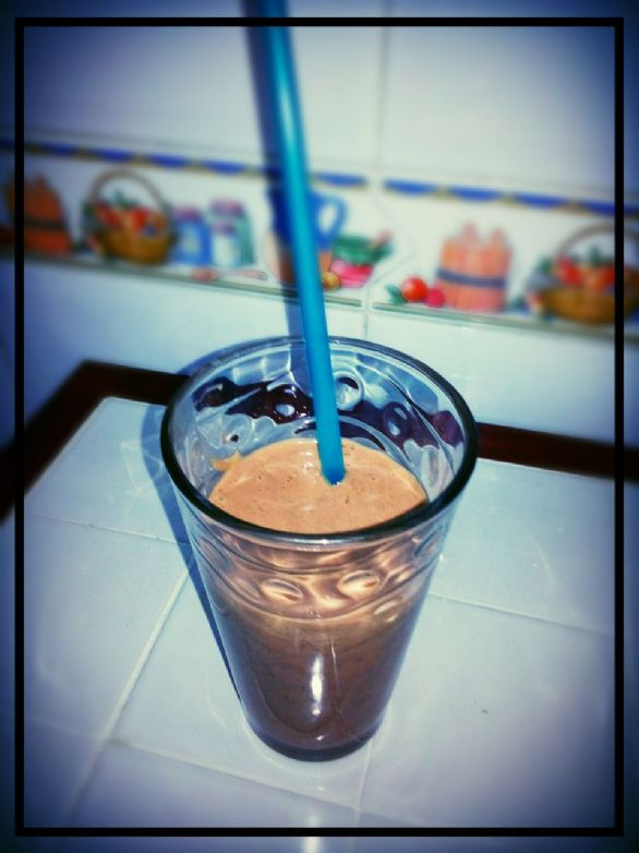 Chocolate Chip Peanut Butter Smoothie