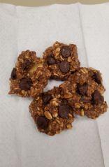 Chocolate Oatmeal Banana Cookies