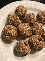 Chocolate Peanut Butter (PB2) Energy Bites - 50 calories each!