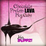 Chocolate Protein Lava Mug Cake