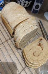 Cinnamon wheat bread