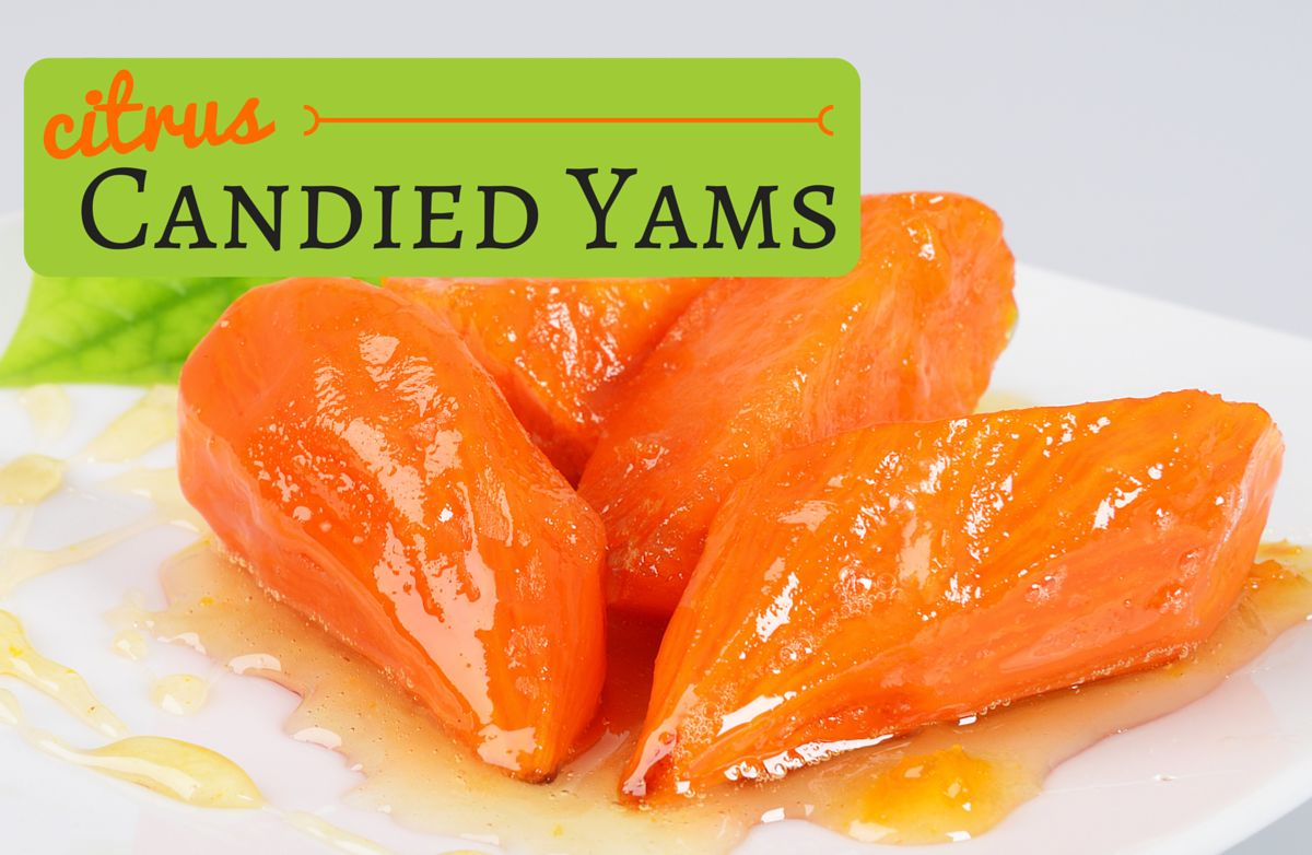 Citrus Candied Yams