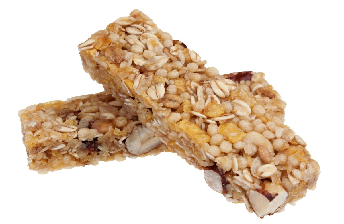 Coach Nicole's Chewy Oat & Nut Granola Bars