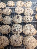 Coconut Almond Chocolate Cookies (Almond Joy)