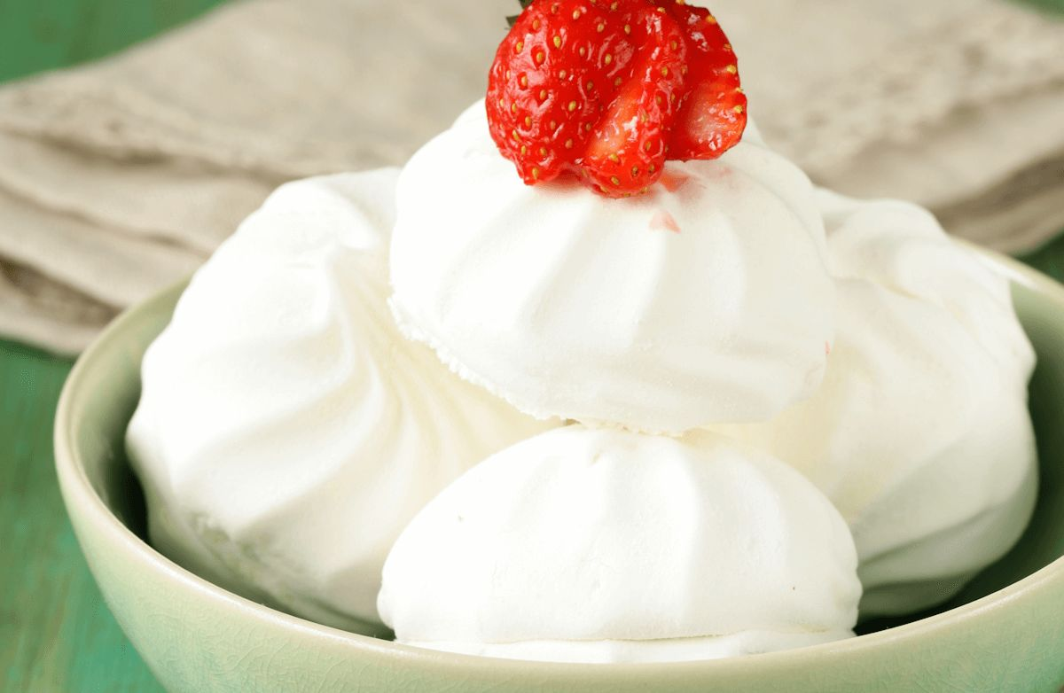 Coconut Meringue Cookies