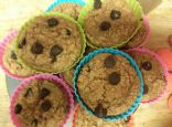 Coconut Peanut Butter Chocolate Chip Muffins