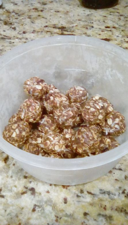 Coffee No Bake Energy Bites