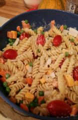 Cold Rotini Pasta Salad