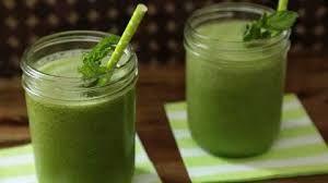 Collard Green Pineapple Smoothie