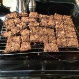 Cornie's  Chocolate Oatmeal Nut Brownies