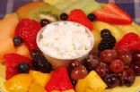 Cottage Cheese and Fruit Platter (40-30-30)