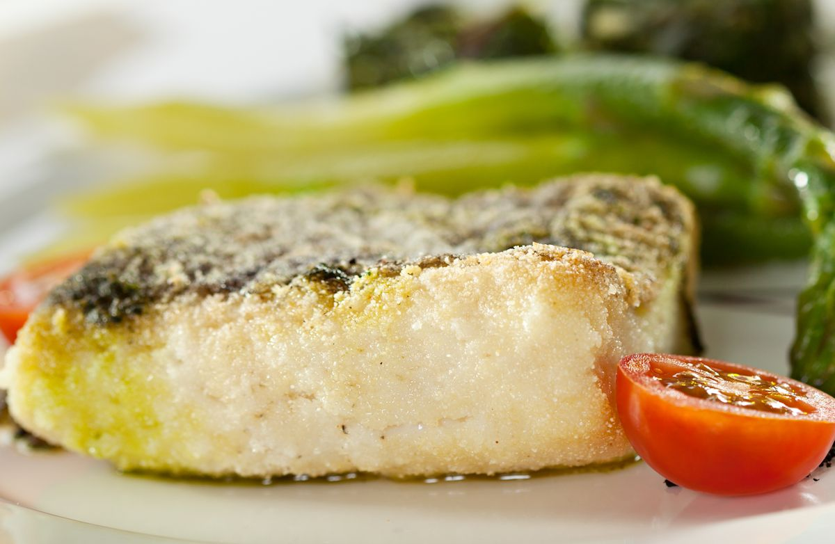 Creamy Baked Halibut