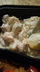 Creamy Garlic Shrimp (Low Carb)