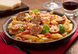 Creamy Parmesan & Garlic Pasta with Sausage/Keilbalsa