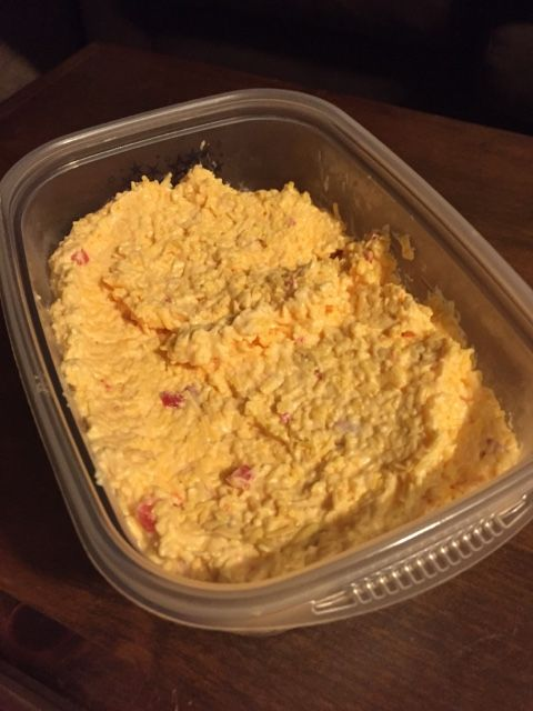 Creamy Pimento Cheese