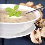 Atkins Creamy Mushroom Soup