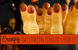 Creepy Halloween Finger Cookies