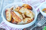 Crisp Garlic Oven Fries