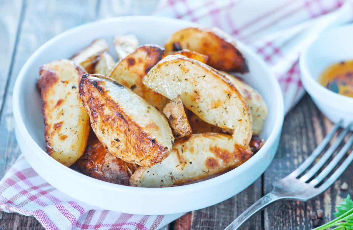 Crisp Garlic Oven Fries