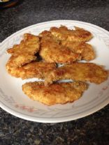 Crispy Baked Chicken with pork rind crust