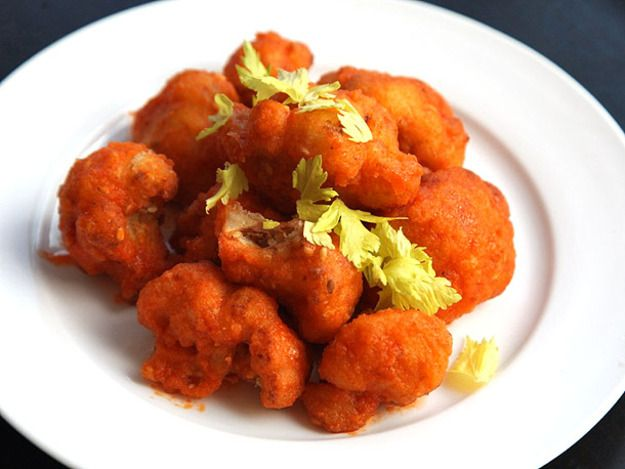 Crispy Buffalo Cauliflower