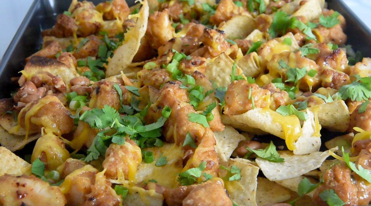 Crispy Chicken Nachos