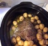 Crockpot Beef Rump Roast with Veggies