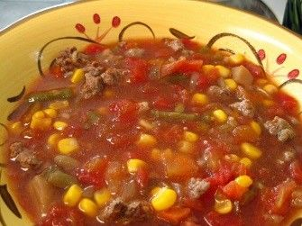 Crockpot Everything Soup