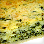Keto Crustless Spinach Quiche