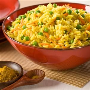 Curried Basmati Rice