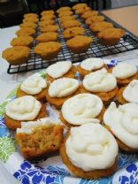 Cyndi's Low Carb Carrot Mini Cupcakes