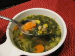 Dandelion Chicken Soup