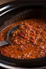 Dawn's Best Chili with Ground Beef